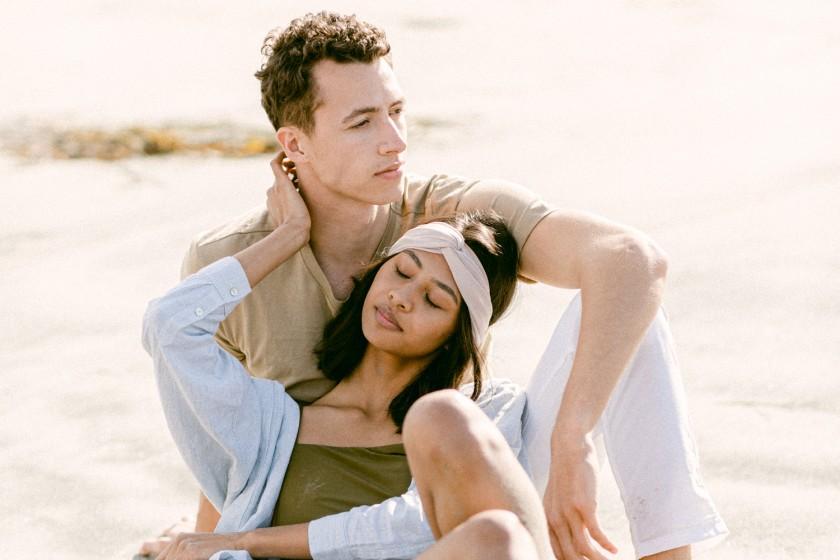 Summer beach fashion for men and women
